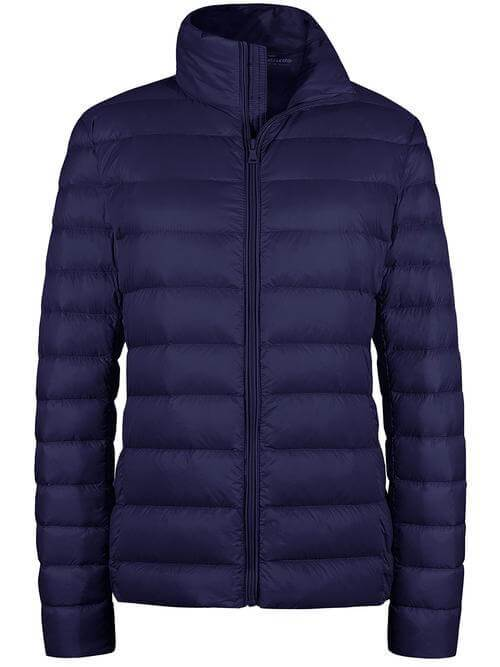 Women's Packable Down Jacket Winter Puffer Coat for Travelling