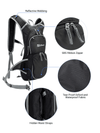 Ubon 10L Backpack Hydration Pack with 2L BPA Free Bladder