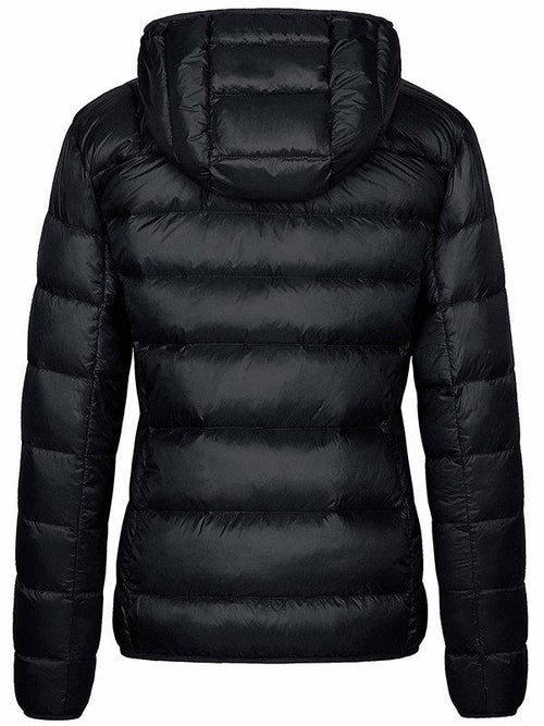 Women's Down Jacket Packable Hooded Lightweight Warm Jacket for Travel