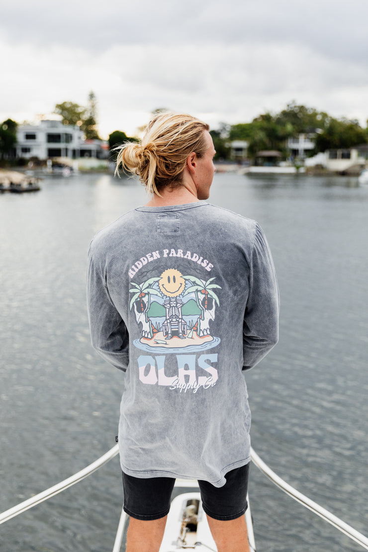 HIDDEN PARADISE LONG SLEEVE