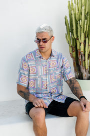 THE AZTEC BUTTON UP