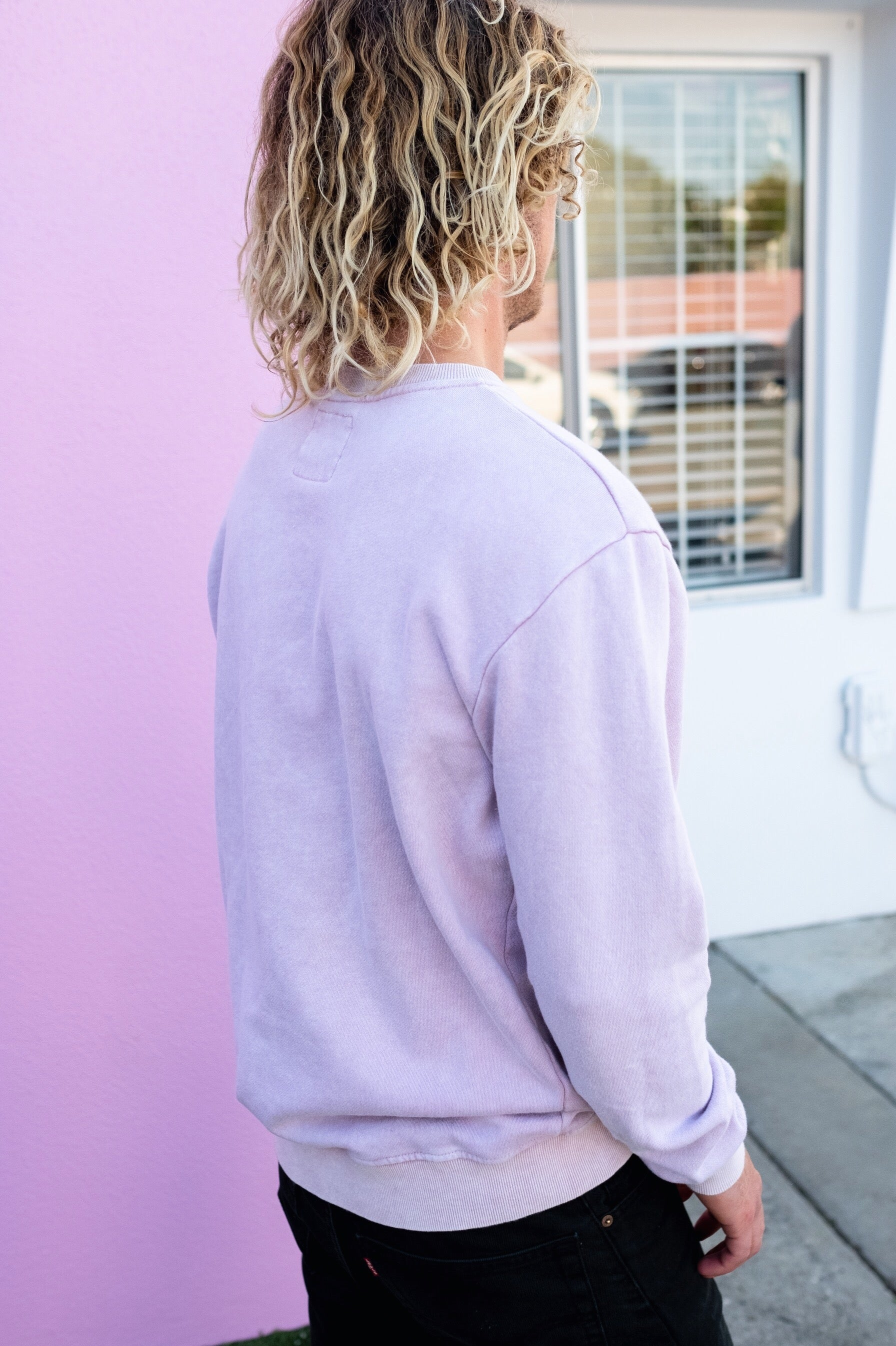 OLAS CREW NECK LILAC - OLAS SUPPLY CO.