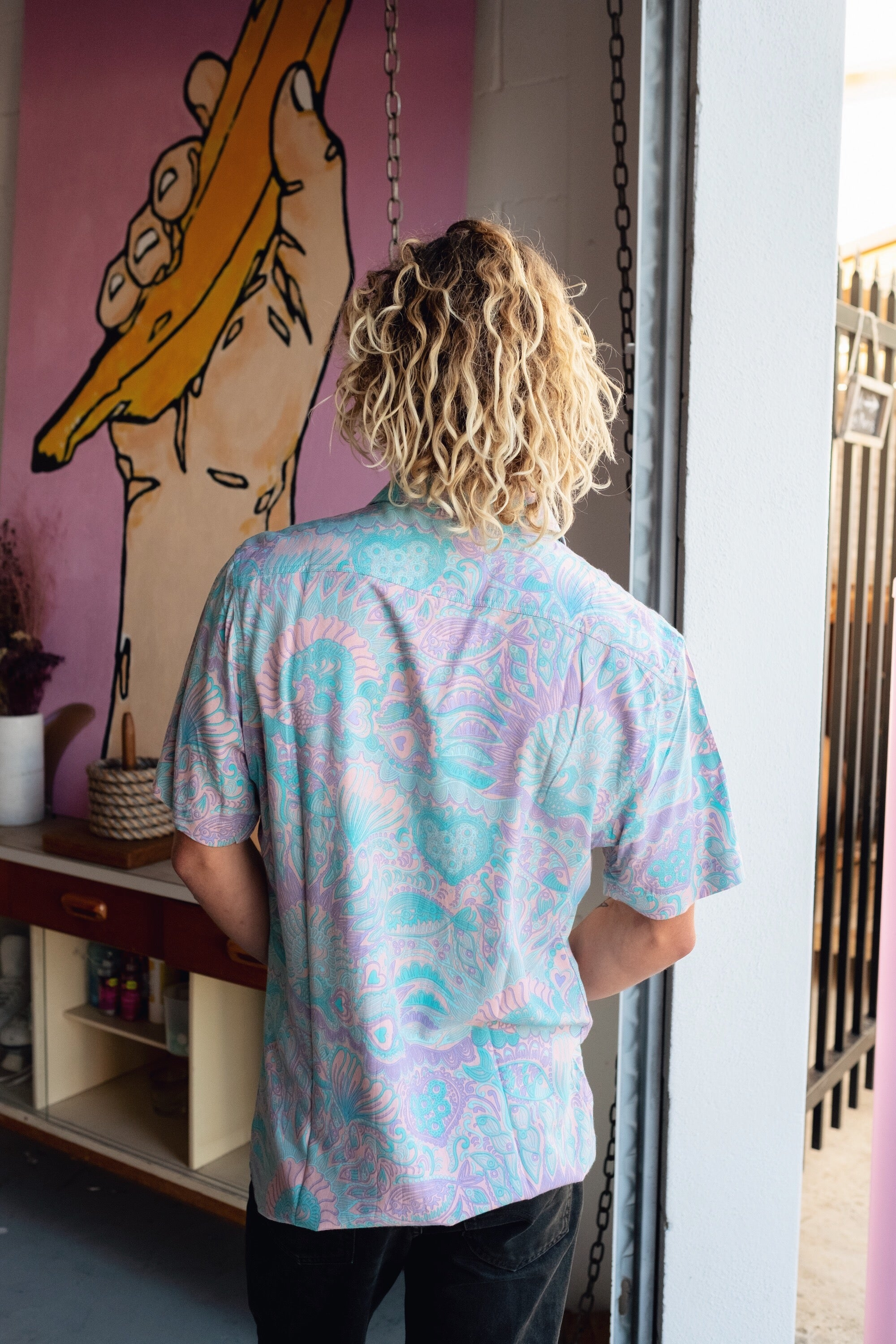 RUKO BUTTON UP - OLAS SUPPLY CO.