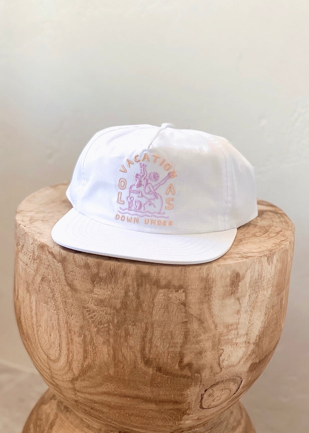 WHITE NYLON HAT