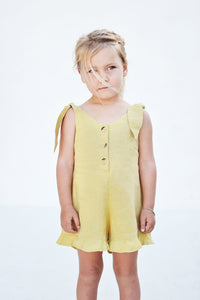 SUNFLOWER PLAYSUIT - OLAS SUPPLY CO.