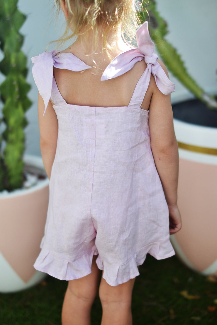 SUNSET MINI PLAYSUIT LILAC - OLAS SUPPLY CO.