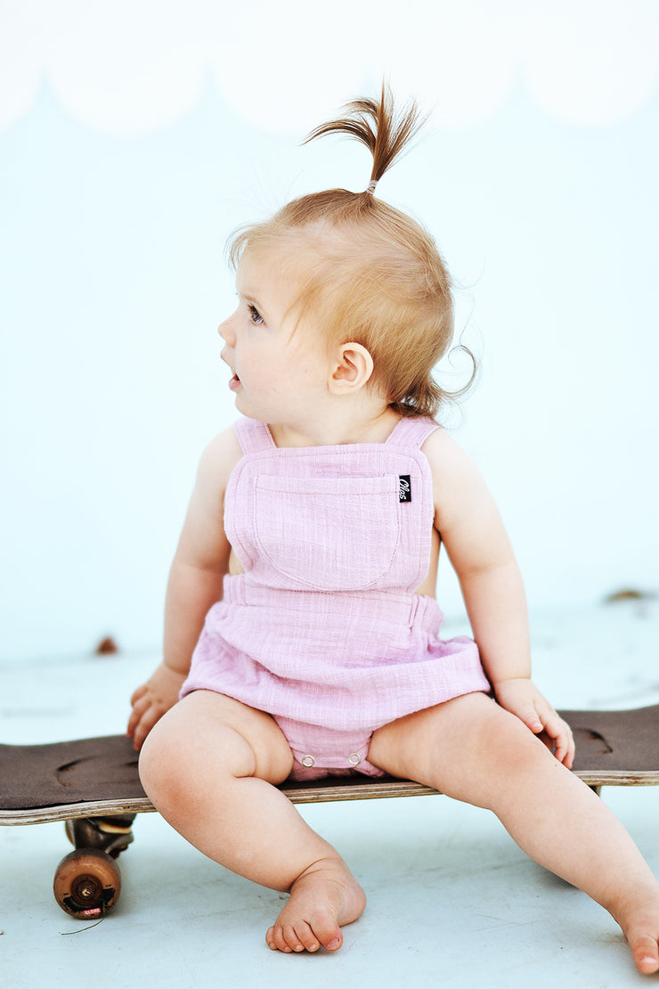 SAILOR ROMPER LILAC - OLAS SUPPLY CO.