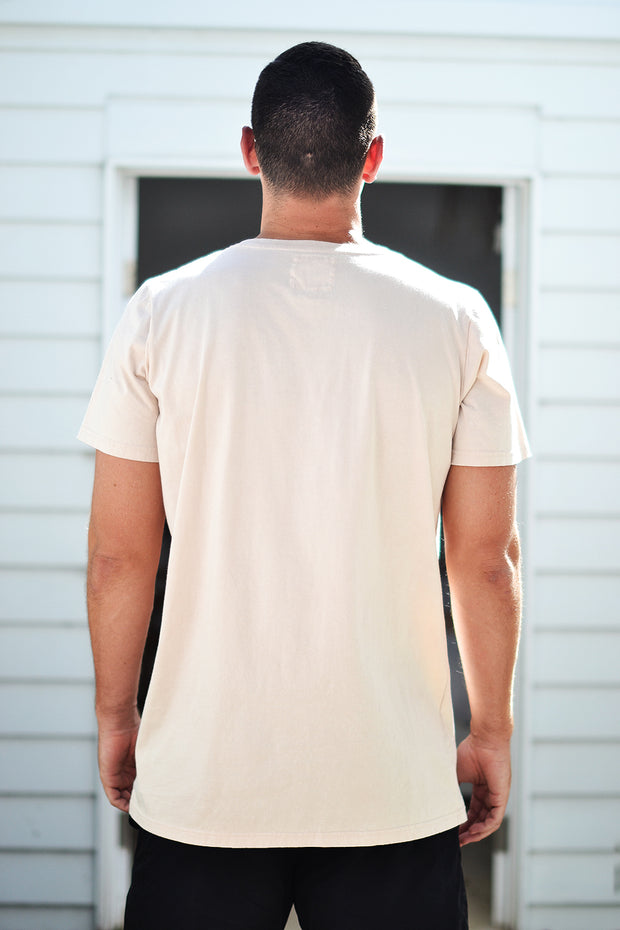 BURLEIGH TEE NUDE - OLAS SUPPLY CO.