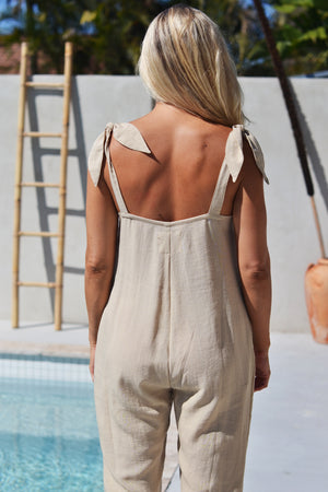 DESERT JUMPSUIT BEIGE - OLAS SUPPLY CO.