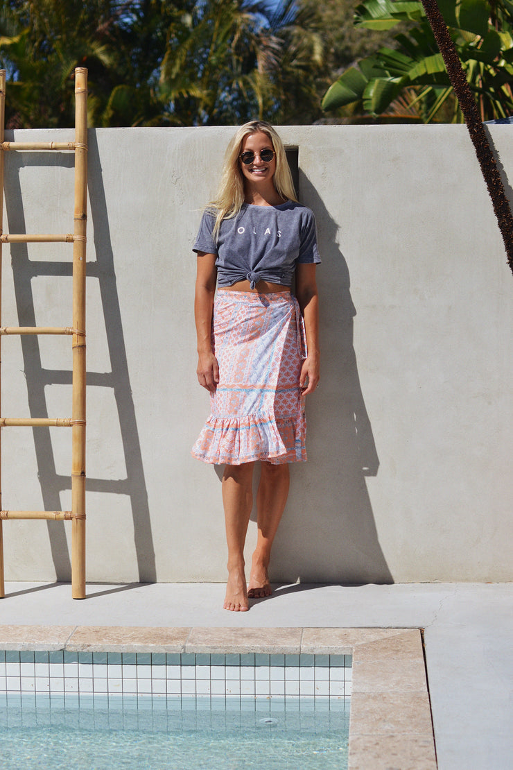 PIPPA WRAP SKIRT - OLAS SUPPLY CO.