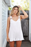 SANDY PLAYSUIT WHITE