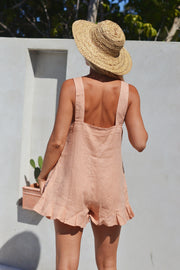SANDY PLAYSUIT PEACH - OLAS SUPPLY CO.
