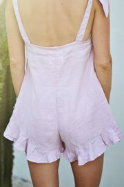 SUNSET PLAYSUIT LILAC - OLAS SUPPLY CO.