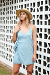 MIA WRAP DRESS - OLAS SUPPLY CO.