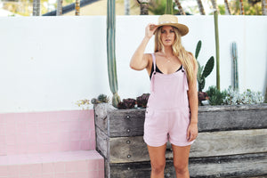 EMILY OVERALLS LILAC - OLAS SUPPLY CO.
