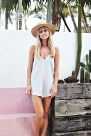 SWAY PLAYSUIT MINT - OLAS SUPPLY CO.