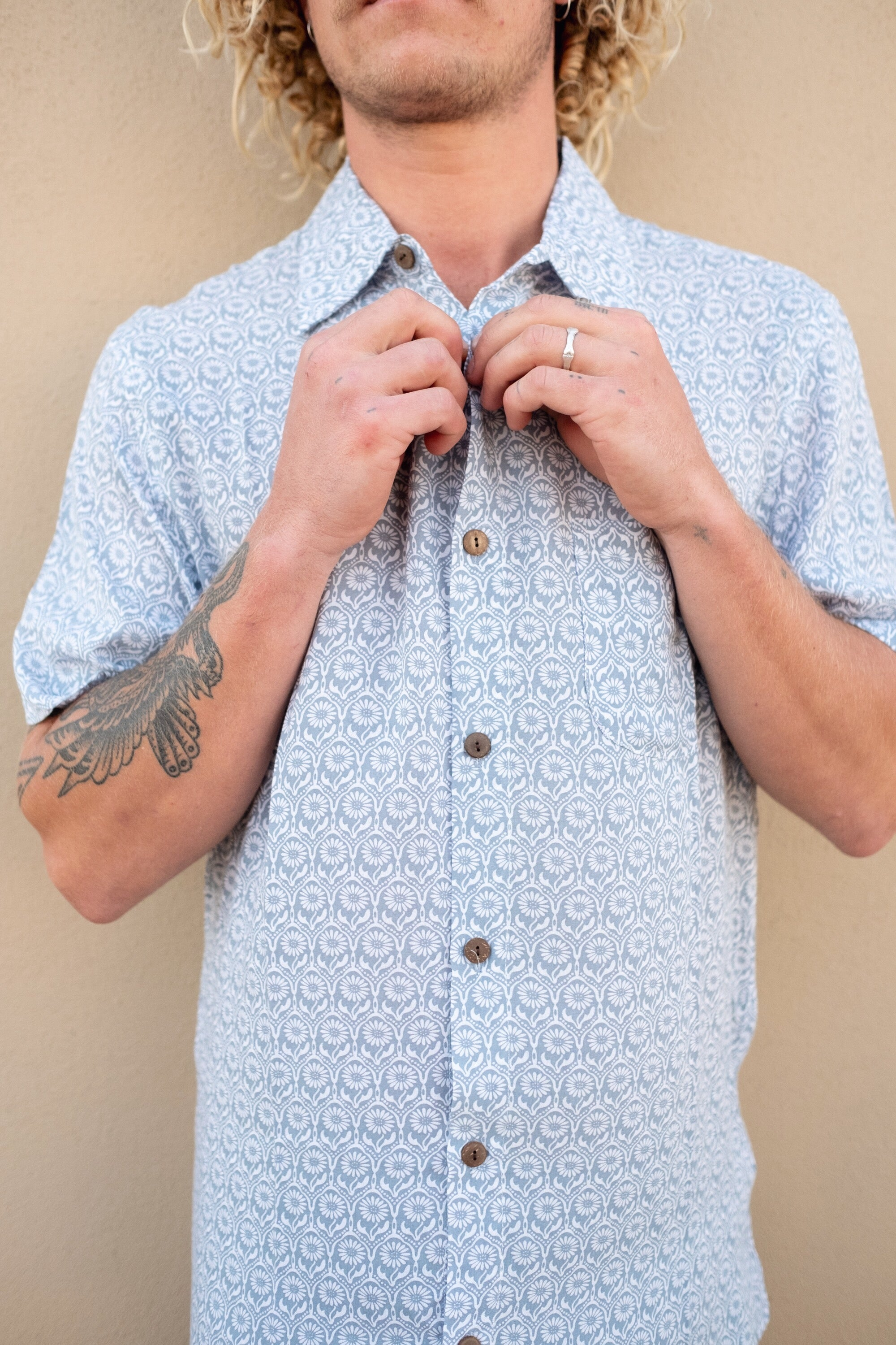 TYGER BUTTON UP - OLAS SUPPLY CO.