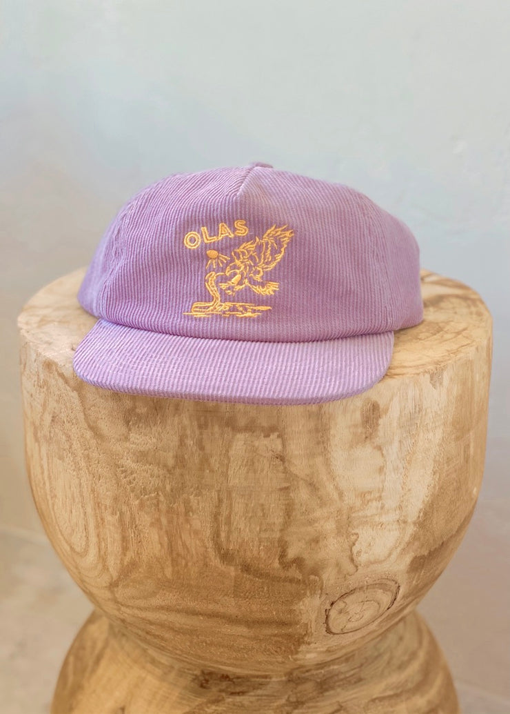 PURPLE CORD HAT