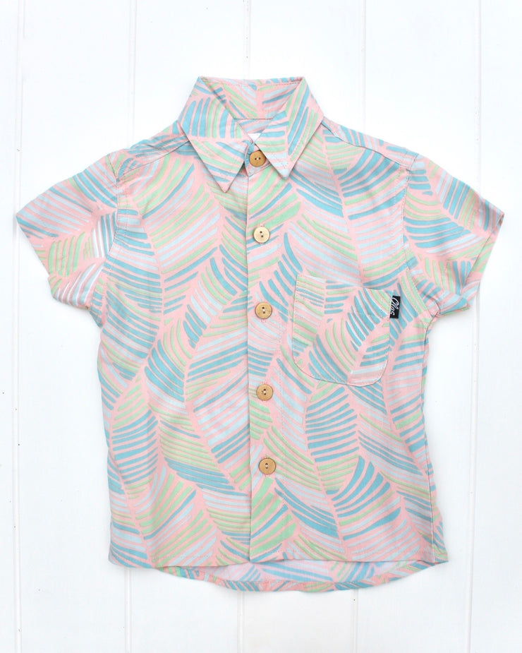 PALM MINI BUTTON UP - OLAS SUPPLY CO.