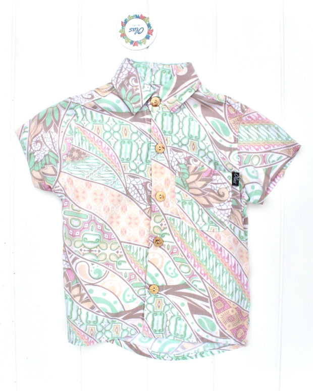 BRIGGZ BUTTON UP - OLAS SUPPLY CO.