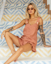 SANDY PLAYSUIT CLAY
