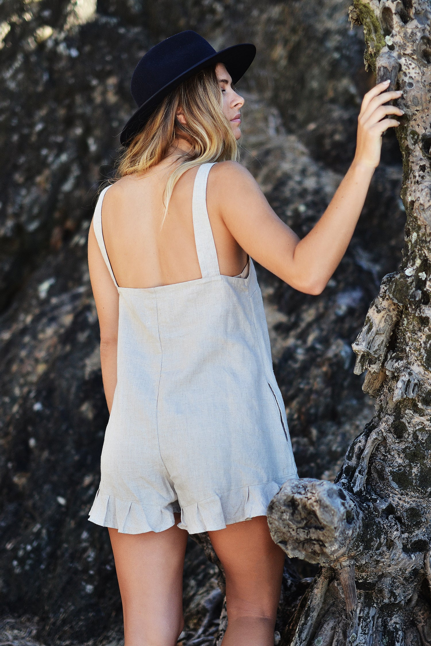 SANDY PLAYSUIT - OLAS SUPPLY CO.