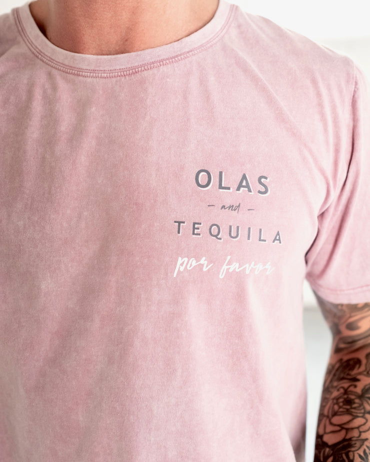 TEQUILA TEE LILAC - OLAS SUPPLY CO.