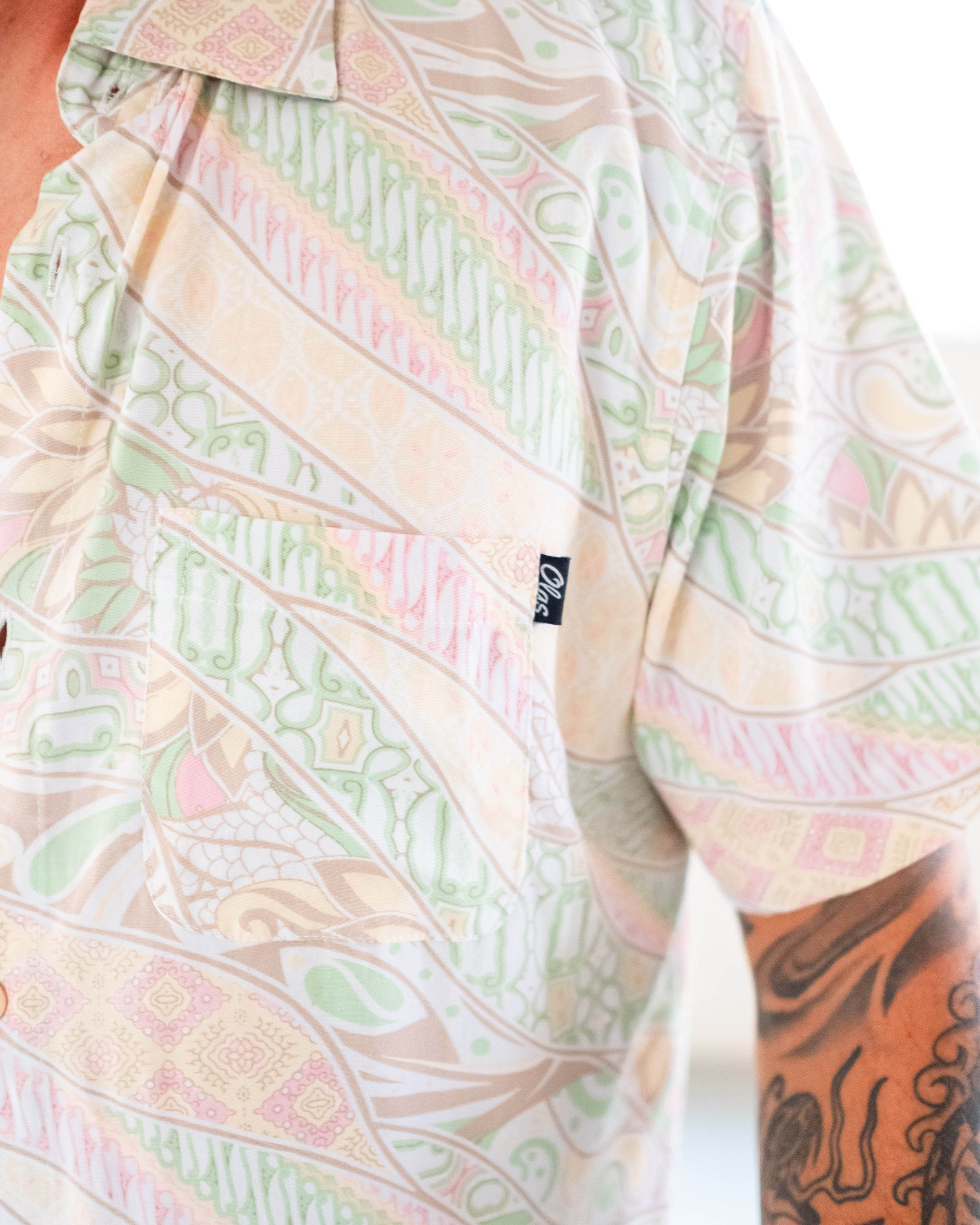 THE BRIGGZ BUTTON UP