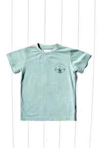 LIVE SIMPLE MINI TEE SAGE - OLAS SUPPLY CO.