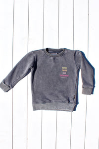 GOOD TIMES MINI CREW NECK - OLAS SUPPLY CO.