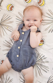 Ryder Romper Charcoal - OLAS SUPPLY CO.