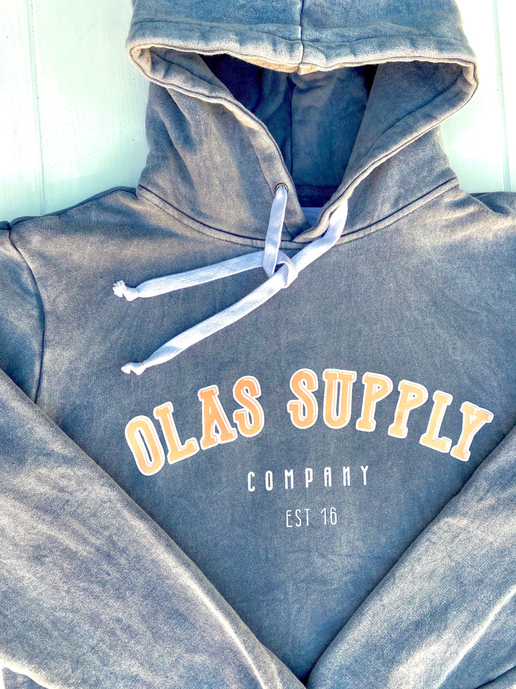 PREORDER COLLEGE HOODIE CHARCOAL