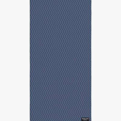 In The Zone - Navy/Grey-Beach-Towel-Tesalate