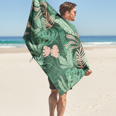 Tesalate - Jungle Beat Beach Towel