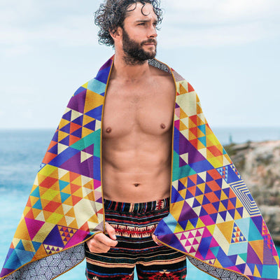 Tesalate - Kaleidoscope Beach Towel