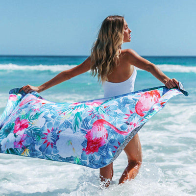 Tesalate - Paradise Found Beach Towel