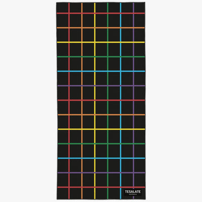 Tesalate Rainbow Crossroad Workout Towel
