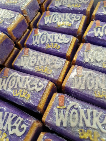Wonka Bar bath bomb *Find the golden ticket to win*