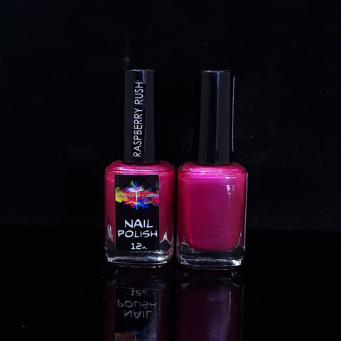 Raspberry Rush Nail Polish