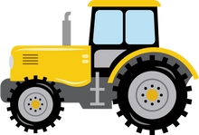 Personalised Tractor Large blanket