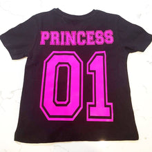 Varsity T Shirt Kids - Black T