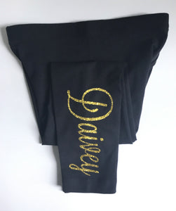 Flashing Lights Tights - Gold