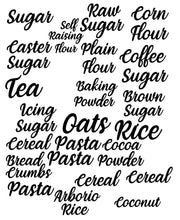 Pantry Label Kit - 25 Labels - Small