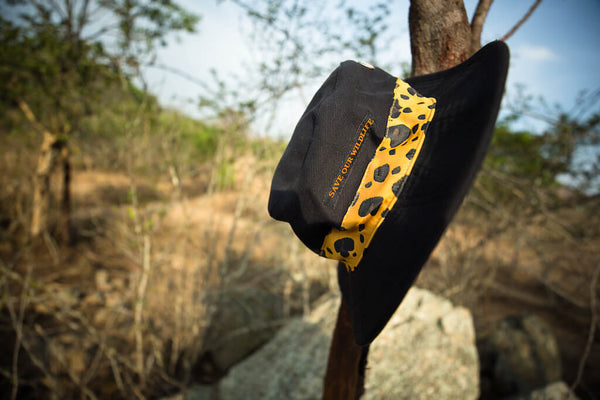 Save-Our-Wildlife Hats - Black Leopard