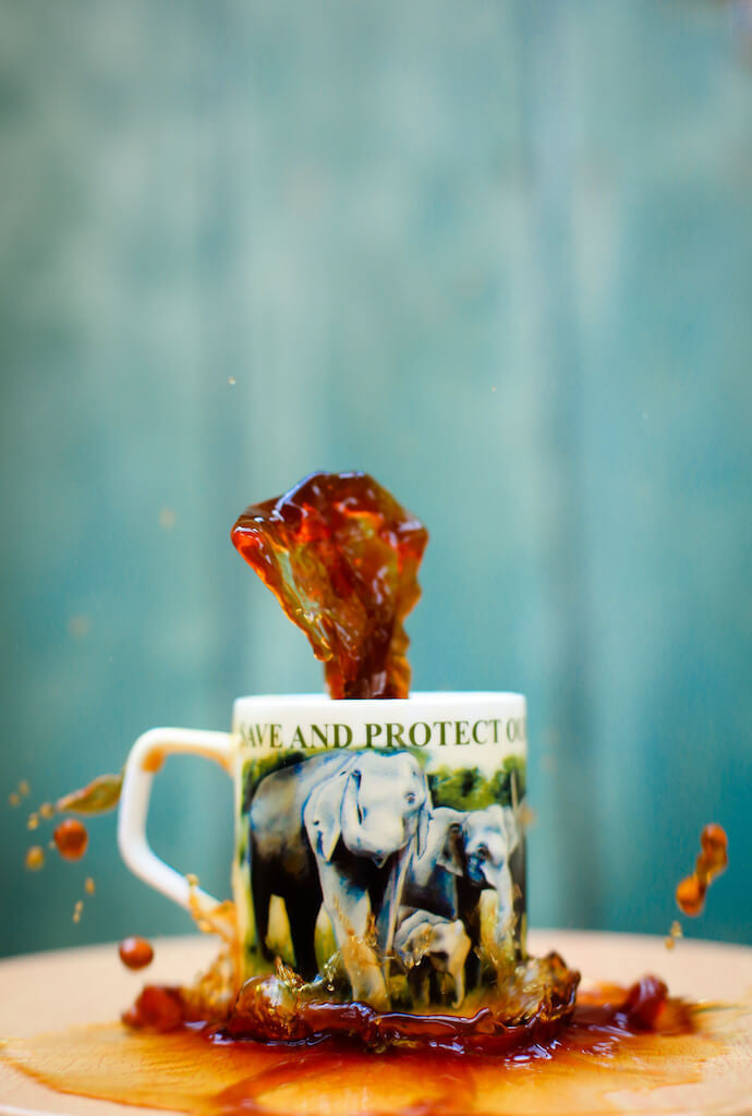 Bone China Coffee Mug - Elephant Small