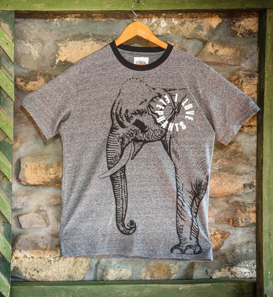 Grindle elephant printed T-shirts - Kids