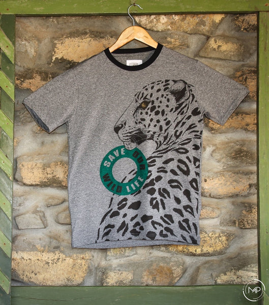 Grindle Leopard Tshirt -Adults
