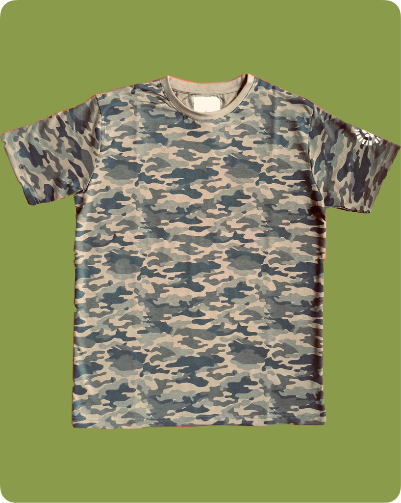 Camouflage All over printed T-Shirt - Adults