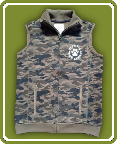 Camouflage Fleece Jacket - Adults