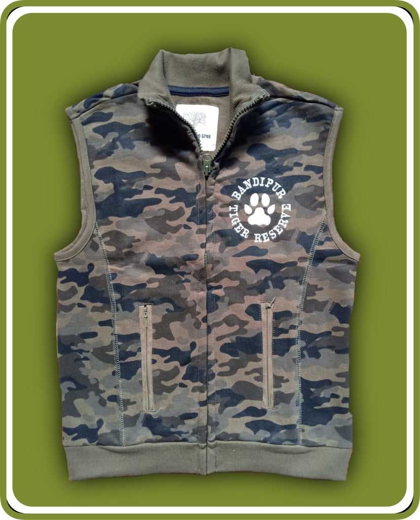 Camouflage Fleece Jacket -Kids